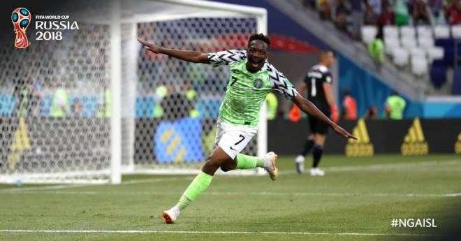 Nigeria fiton, Argjentina shpreson