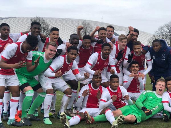 Ajax dominon Evropën