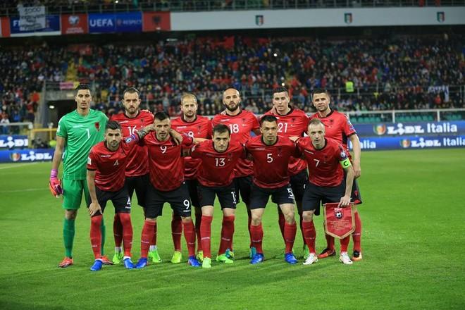 Shqipëri vs. Itali, formacionet startuese