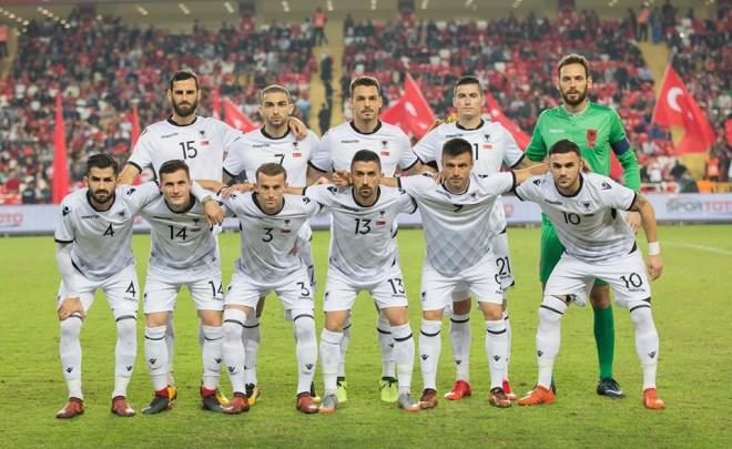 Shqipëria ndaj Uellsit