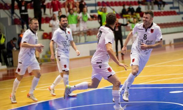 Shqipëria shënon fitore ndaj Danimarkës