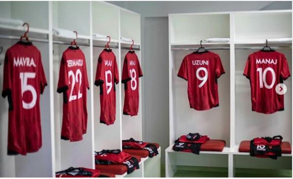 Formacionet zyrtare: Shqipëria - Jordania