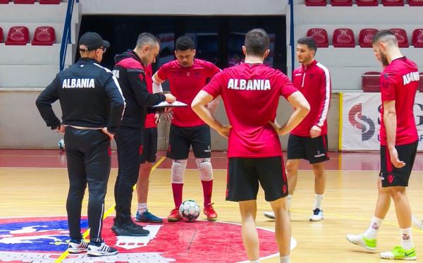 Lista e Shqipërisë në futsall me 7 lojtarë nga skuadrat kosovare