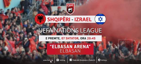 Shqipëria-Izraeli, biletat në shitje