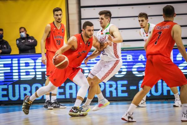 Rezultat i ngushtë në çerekun e parë mes Shqipërisë dhe Bjellorusisë