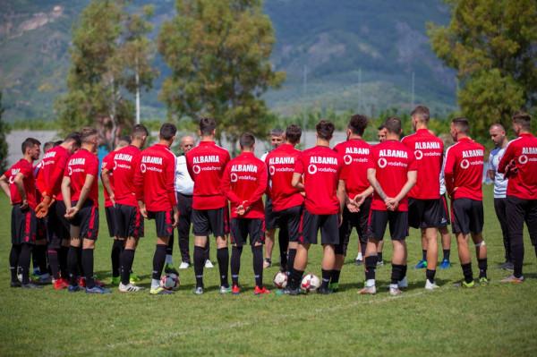 Shqipëria U21 zhvilloi stërvitjen e parë