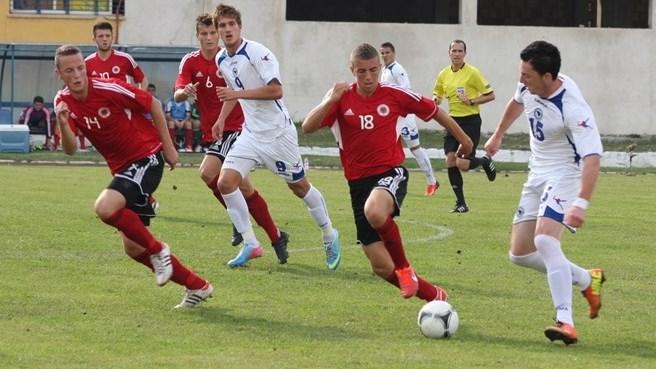Shqipëria U21 mposht Bjellorusinë