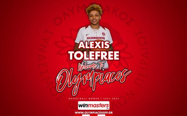 Tolefree transferohet te Olympiacosi
