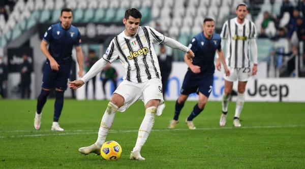 Juve mposht Lazion, shkëlqen Morata