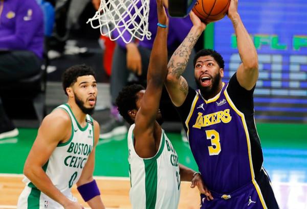 Lakers fiton derbin ndaj Bostonit