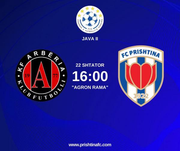Formacionet zyrtare: Arbëria - Prishtina