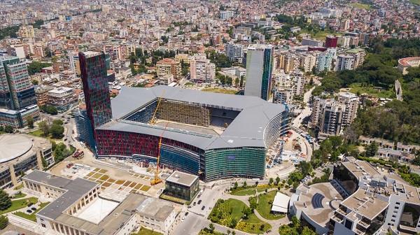 Pamjet e reja nga Arena Kombëtare