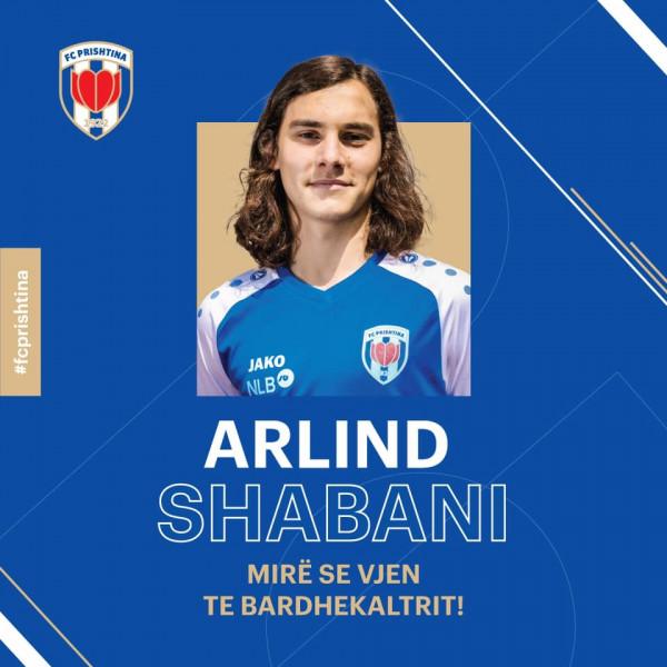 Arlind Shabani te Prishtina