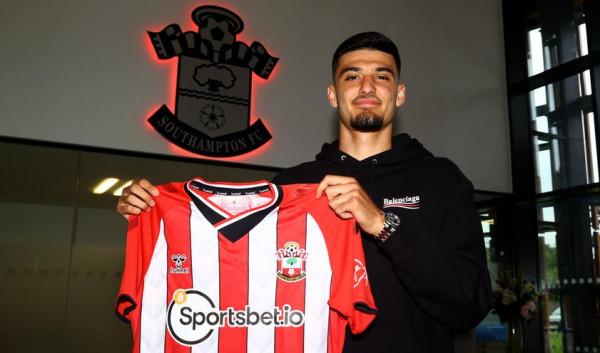 Armando Broja kalon te Southampton