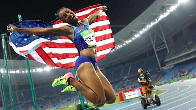 SHBA-të mbledhin medaljet në sprint me pengesa