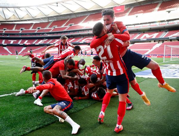 Atletico Madridi shpallet kampion i La Ligas