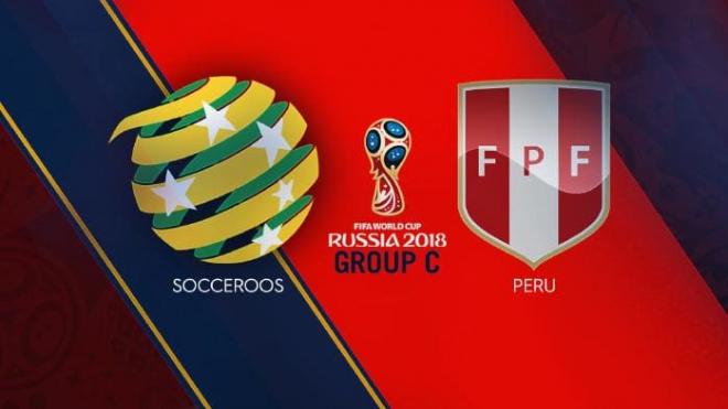 Formacionet: Australia - Peru