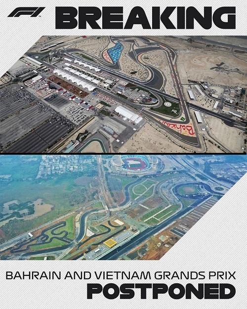 Shtyhen edhe dy garat tjera pas Australian GP