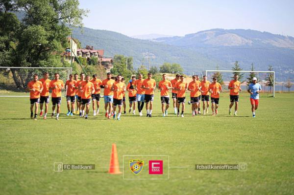 Ballkani luan miqësore me skuadrën nga Superliga Turke