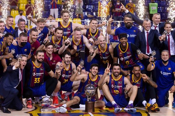 Barcelona shpallet kampione në Spanjë