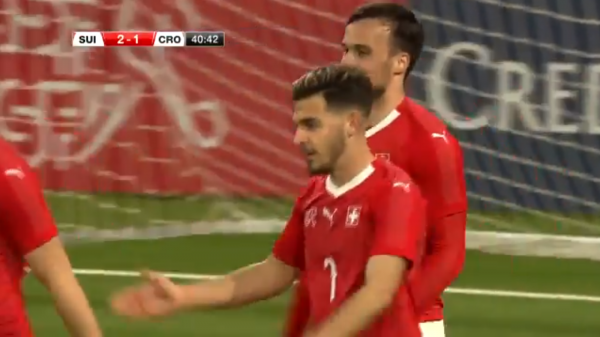 Bastien Toma shënon për Zvicrën U21