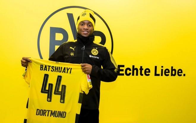 Batshuayi te Dortmundi