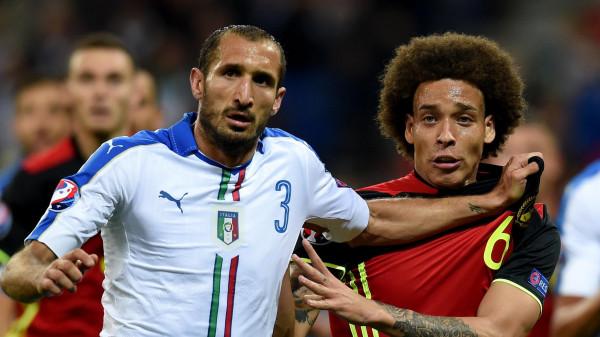 Formacionet zyrtare: Italia - Belgjika