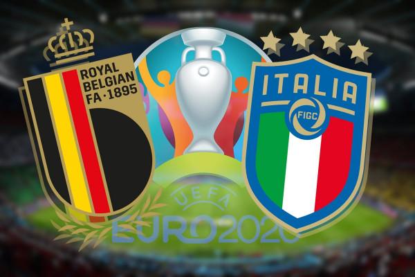 Formacionet zyrtare: Belgjika - Italia