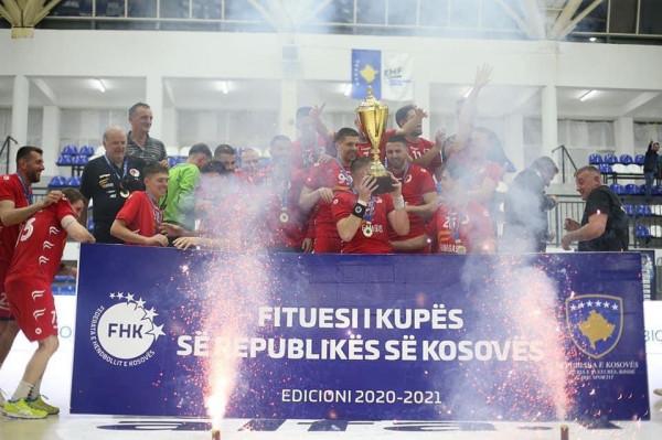 Besa Famgas fiton edhe Kupën e Kosovës