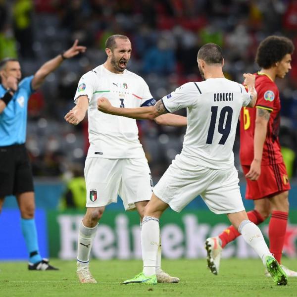 Notat e futbollistëve: Belgjika - Italia
