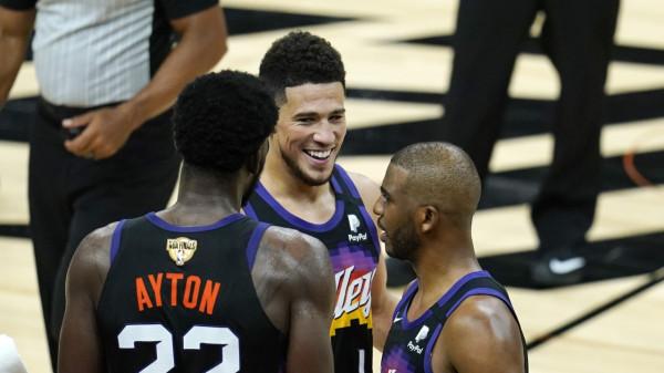 20 treshe nga Suns, përgjysmohet rruga për titull