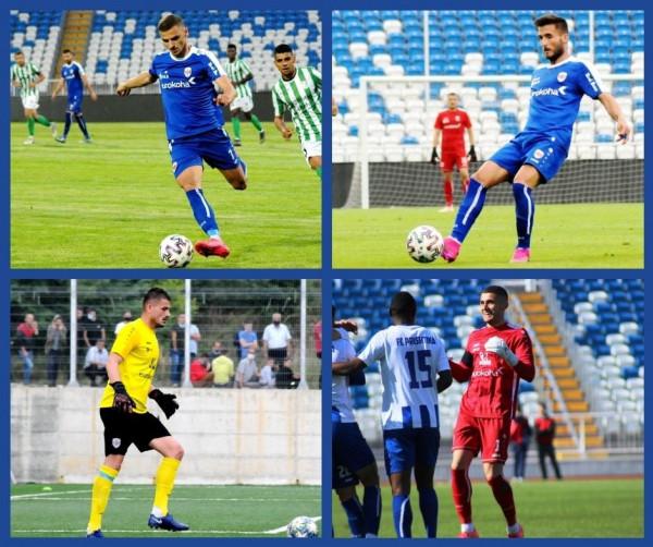 Prishtina rinovon kontratat e 4 futbollistëve