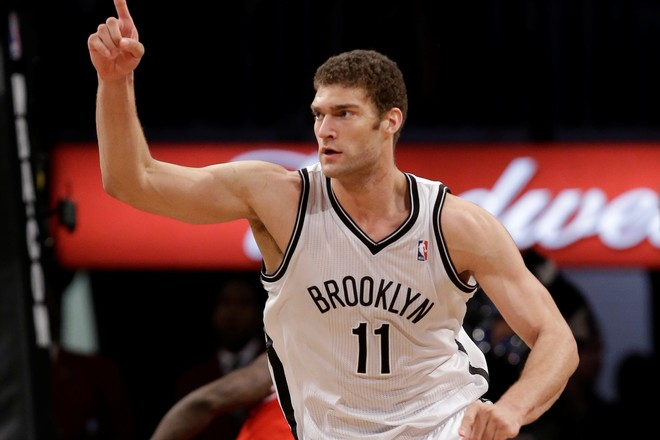 Lakers transferon Brook Lopezin