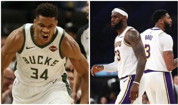 Bucks e Lakers me nga 10 fitore rresht