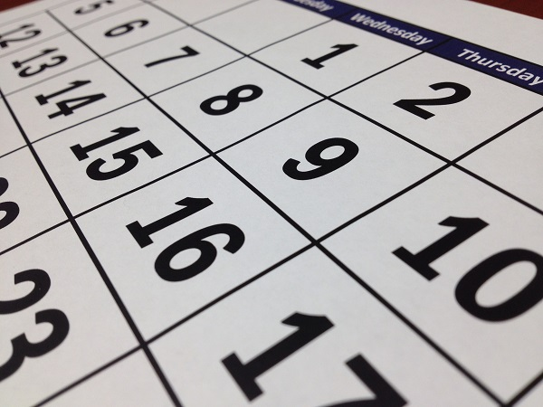 Kalendari 2018 në Sportin ndërkombëtar