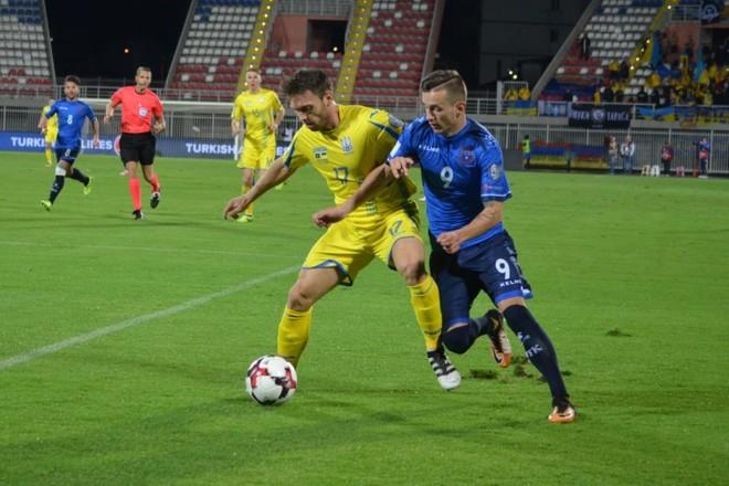Humbja e tetë e Kosovës, Ukraina pranë kualifikimit