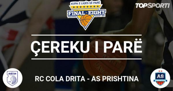 Ç1: Rezultati i ngushtë në ndeshjen RC Cola Drita - AS Prishtina