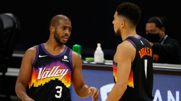Paul me 0 topa të humbur, Suns përgjysmojnë rrugën