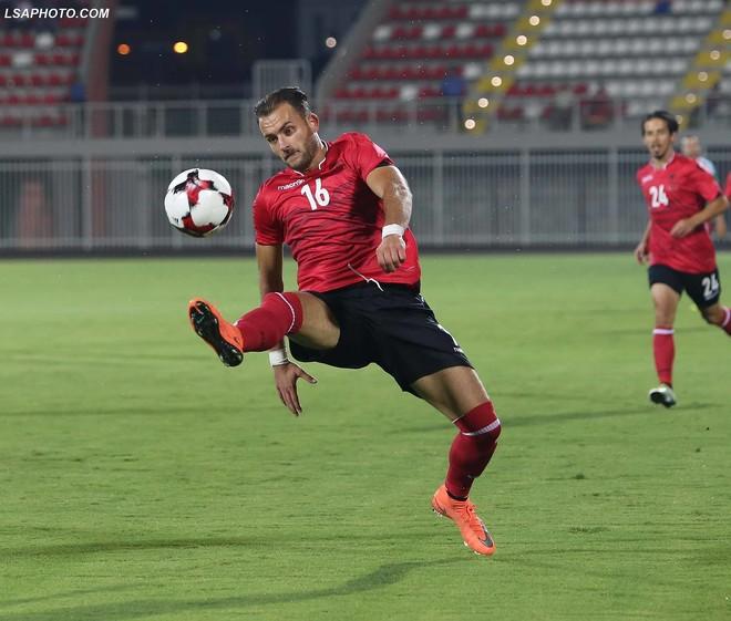 Lëndohet Cikalleshi, mungon në 2 ndeshjet e Shqipërisë