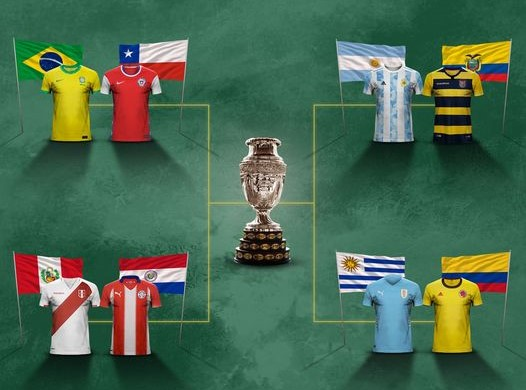 Përcaktohen çerekfinalistët në Copa America'21