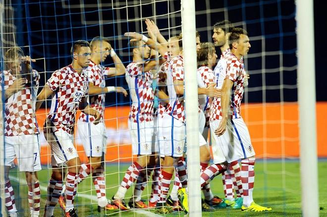 Kroacia vs. Greqia, formacionet zyrtare