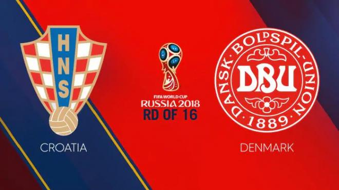 Formacionet: Kroacia - Danimarka