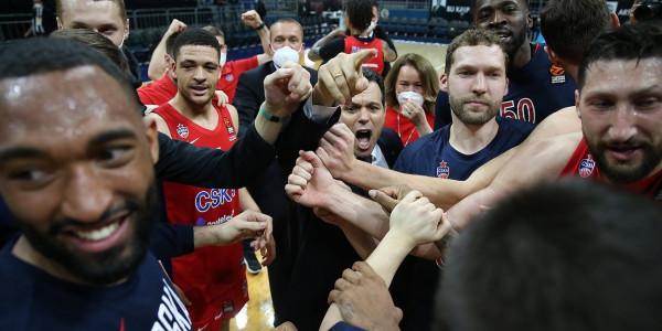 CSKA Moska skuadra e parë në Final 4