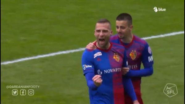 Kombinimi Zhegrova-Kasami sjell golin për Baselin (Video)