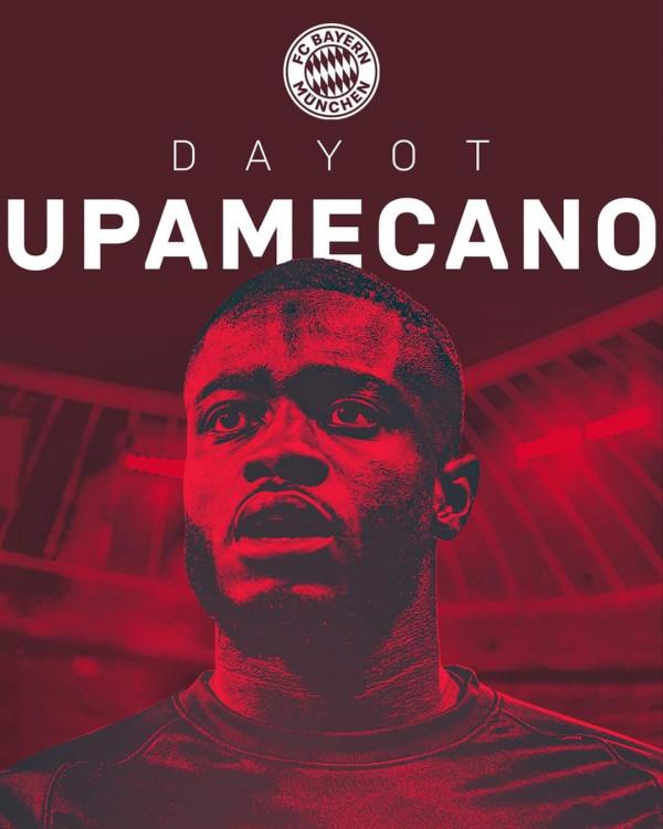 Bayern Munich zyrtarizon Upamecanon