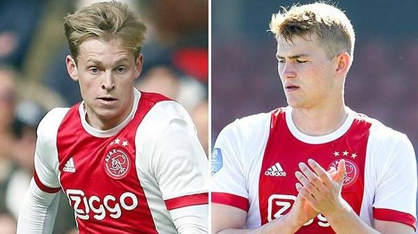 Barcelona mbetet e para për dyshen e Ajaxit