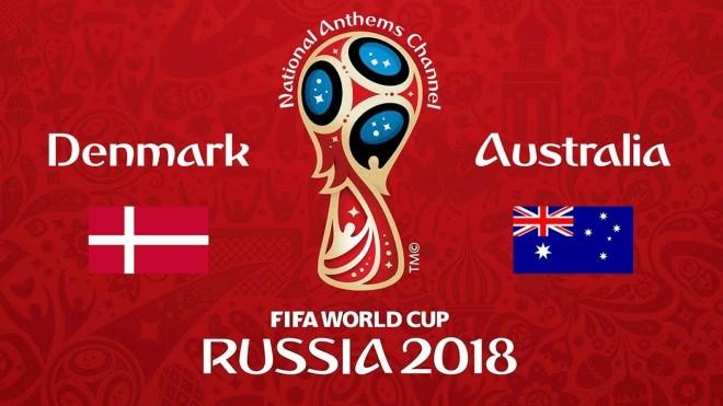 Formacionet: Danimarka - Australia