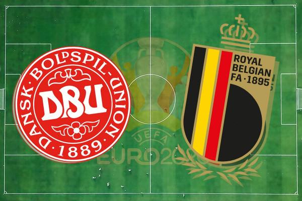 Formacionet zyrtare: Danimarka - Belgjika