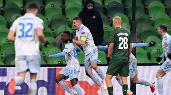 Dinamo Zagreb fiton në Rusi, Kastrati pa minuta