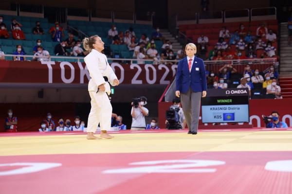 Distria Krasniqi në gjysmëfinale